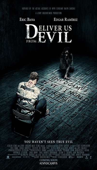 Deliver Us From Evil Movie Poster - Deliver Us From Evil - Linh hồn báo thù